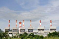 Centrais energéticas Fotografia de Stock Royalty Free
