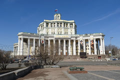 Central Academic Theatre of the Russian Army in Moscow Royalty Free Stock Image