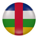 Central Africa button on white background Royalty Free Stock Images