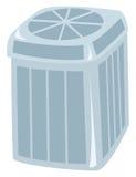Central Air Conditioner. A central air conditioning unit drawn as a cartoon Royalty Free Stock Photo