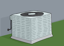 Central Air Conditioner Royalty Free Stock Images