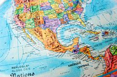 Central america stock photography