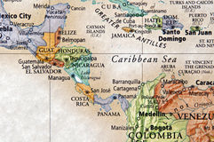 Central America Royalty Free Stock Photo