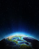 Central america. Elements of this image furnished by NASA Royalty Free Stock Images