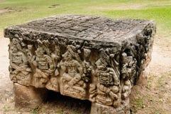 Central America Mayan Copan fördärvar i Honduras Arkivbilder