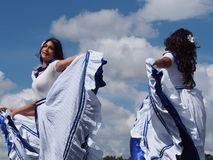 Central American Dancers At Edmonton's Heritage Days 2013 Stock Photography