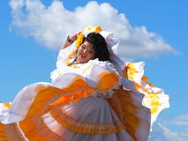 Central American Folk Dancers Royalty Free Stock Photography