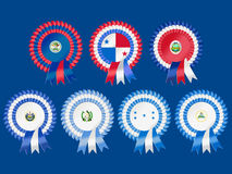 Central American Rosettes Stock Image