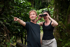 Central American Tourists Royalty Free Stock Images