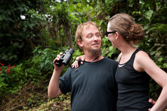 Central American Tourists Royalty Free Stock Image