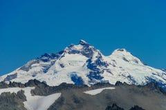 Central Andes snow mountain Cerro Tronador Royalty Free Stock Image