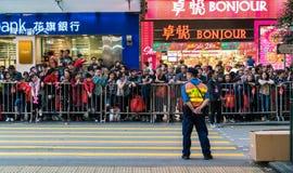 Central apretada de Hong Kong Fotos de archivo libres de regalías