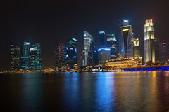 Central Area or Central Business District in Singapore Royalty Free Stock Image