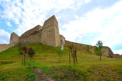 Central area of Rupea (Reps) Fortress Royalty Free Stock Photography