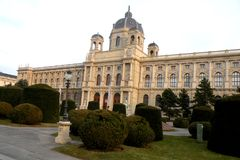 In the central area of Vienna Royalty Free Stock Photo