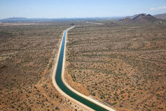 Central Arizona Project near Scottsdale, Arizona Stock Images