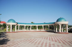 Central Asian building Royalty Free Stock Photography