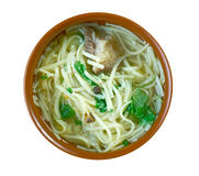 Central Asian noodle dish Stock Photography