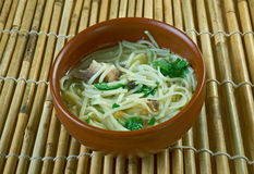 Central Asian noodle dish Stock Images