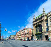 The central avenue of Saint Petersburg Royalty Free Stock Images