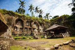 Central Bali temple royalty free stock photo