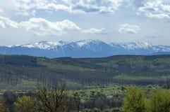 Central Balkan mountain, Bulgaria. View toward Central Balkan mountain, Bulgaria royalty free stock photo