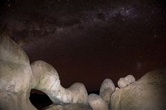 Central Band of Milky Way royalty free stock photos