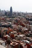 Central barcelona Stock Image