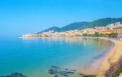 The central beach of Ajaccio Stock Image