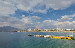 Central beach of Eilat Royalty Free Stock Images