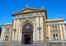 Central Belgrade railway station, Serbia Royalty Free Stock Images