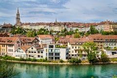 Central Bern, Schweiz Arkivbilder