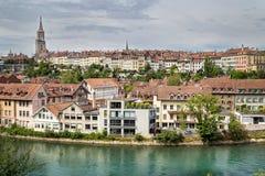Central Bern, Schweiz Royaltyfri Fotografi