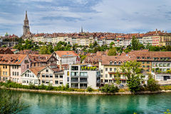 Central Bern, Switzerland Stock Images