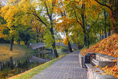 Central botanic park in Riga, Latvia Stock Photo