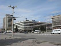 Central Boulevard, Zaporozhye, UA Stock Photo