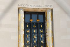Brooklyn Public Library Stock Photography