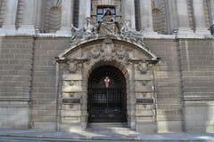 Central brottmålsdomstol London royaltyfri fotografi
