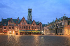 Central Bruges Stock Photo
