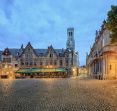 Central Bruges Royalty Free Stock Photo