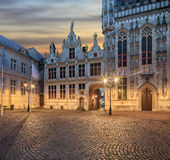 Central Bruges old town Stock Photo