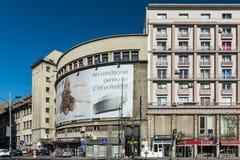 Central Bucharest View On Gheorghe Magheru Boulevard Stock Photos