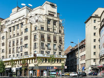 Central Bucharest View On Gheorghe Magheru Boulevard Stock Photography