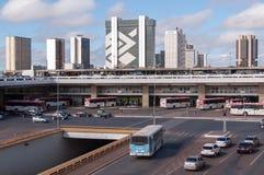 Central Bus Station of Brasilia Stock Image