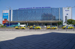 Central Bus Station in Sofia, Bulgaria, Europe. Royalty Free Stock Photos