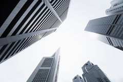 Central business district Royalty Free Stock Photography