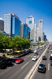 The central business district in beijing Royalty Free Stock Photo