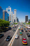 The central business district in beijing Royalty Free Stock Photography