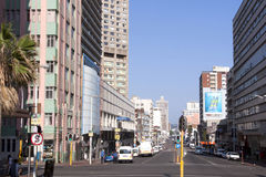 Central Business District in Durban South Africa Royalty Free Stock Image