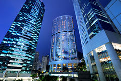 Central business district in Hong Kong Stock Photography